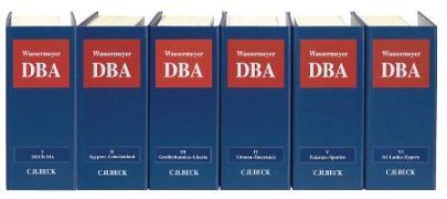 Cover-Bild zu Wassermeyer, Franz (Hrsg.): Doppelbesteuerung - Doppelbesteuerung