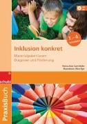 Cover-Bild zu Aster, Theresa: Inklusion konkret 1.-4. Schuljahr. Praxisbuch. Materialpaket Lesen