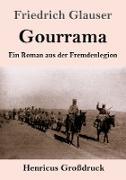 Cover-Bild zu Glauser, Friedrich: Gourrama (Großdruck)