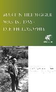 Cover-Bild zu Heidegger, Martin: Was ist das - die Philosophie?