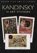 Cover-Bild zu Kandinsky, Wassily: Kandinsky: 16 Art Stickers