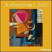 Cover-Bild zu Kandinsky, Wassily: Kandinsky 2022 - Wand-Kalender - Broschüren-Kalender - 30x30 - 30x60 geöffnet - Kunst-Kalender