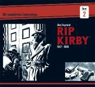 Cover-Bild zu Raymond, Alex: Rip Kirby: Die kompletten Comicstrips / Band 2 1947 - 1948
