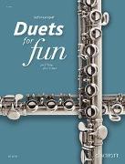 Cover-Bild zu Landgraf, Gefion (Hrsg.): Duets for Fun: Flutes