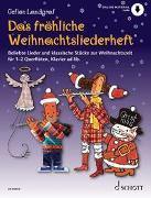 Cover-Bild zu Landgraf, Gefion: Das fröhliche Weihnachtsliederheft