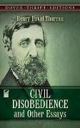 Cover-Bild zu Thoreau, Henry David: Civil Disobedience, and Other Essays
