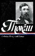 Cover-Bild zu Thoreau, Henry David: Henry David Thoreau: Collected Essays and Poems (LOA #124)