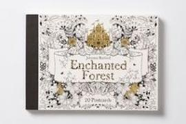Cover-Bild zu Basford, Johanna (Illustr.): Enchanted Forest: 20 Postcards