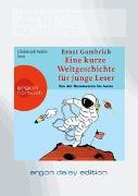 Cover-Bild zu Gombrich, Ernst H.: Eine kurze Weltgeschichte für junge Leser: Von der Renaissance bis heute (DAISY Edition)