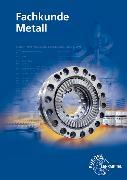 Cover-Bild zu Fachkunde Metall mit CD-ROM von Burmester, Jürgen