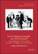 """Cover-Bild zu Simonis, Annette (Hrsg.): Erich Wolfgang Korngold, """"der kleine Mozart"""""""