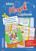 Cover-Bild zu Mein Musik-Lapbook - Instrumente, Notenlehre & Komponisten von Blumhagen, Doreen