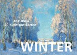 Cover-Bild zu Postkartenbuch Winter von Anaconda