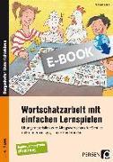 Cover-Bild zu Wortschatzarbeit mit einfachen Lernspielen (eBook) von Köller, Michaela