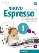 Cover-Bild zu Nuovo Espresso A1. Lehr- und Arbeitsbuch mit DVD und Audio-CD von Ziglio, Luciana
