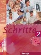 Cover-Bild zu Schritte 2. A1/2. Kursbuch und Arbeitsbuch mit CD