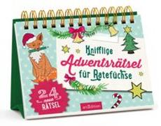 Cover-Bild zu Knifflige Adventsrätsel für Ratefüchse von Golluch, Norbert