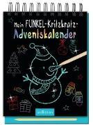 Cover-Bild zu Mein Funkel-Kritzkratz-Adventskalender - Ein zauberhafter Kritzkratz-Block für Kinder