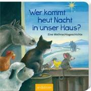 Cover-Bild zu Wer kommt heut Nacht in unser Haus? von Ackroyd, Dorothea (Illustr.)