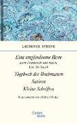 Cover-Bild zu Empfindsame Reise, Tagebuch des Brahmanen, Satiren, kleine Schriften (eBook) von Sterne, Laurence
