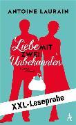 Cover-Bild zu XXL-LESEPROBE: Laurain - Liebe mit zwei Unbekannten (eBook) von Laurain, Antoine