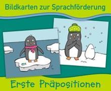 Cover-Bild zu Bildkarten zur Sprachförderung: Erste Präpositionen von Verlag an der Ruhr, Redaktionsteam
