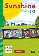 Cover-Bild zu Sunshine, Early Start Edition - Neubearbeitung und Nordrhein-Westfalen Neubearbeitung, 1./2. Schuljahr, Sunshine Stories, Video-DVD von Röbers, Daniela