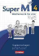 Cover-Bild zu Super M, Mathematik für alle, Westliche Bundesländer - Neubearbeitung, 4. Schuljahr, Kopiervorlagen mit CD-ROM von Manten, Ursula