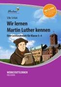 Cover-Bild zu Wir lernen Martin Luther kennen (Set) von Schlak, Silke