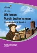 Cover-Bild zu Wir lernen Martin Luther kennen (PR) von Schlak, Silke