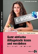 Cover-Bild zu Ganz einfache Alltagstexte lesen und verstehen (eBook) von Jaglarz, Barbara