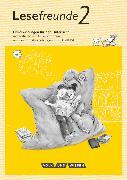 Cover-Bild zu Lesefreunde, Lesen - Schreiben - Spielen, Östliche Bundesländer und Berlin - Neubearbeitung 2015, 2. Schuljahr, Handreichungen für den Unterricht mit CD-ROM von Gerber, Sabine