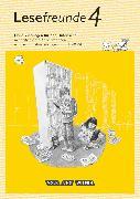 Cover-Bild zu Lesefreunde, Lesen - Schreiben - Spielen, Östliche Bundesländer und Berlin - Neubearbeitung 2015, 4. Schuljahr, Handreichungen für den Unterricht mit CD-ROM von Gutzmann, Marion