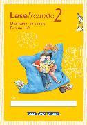 Cover-Bild zu Lesefreunde, Lesen - Schreiben - Spielen, Östliche Bundesländer und Berlin - Neubearbeitung 2015, 2. Schuljahr, Lernentwicklungsheft, 10 Stück im Paket von Gutzmann, Marion