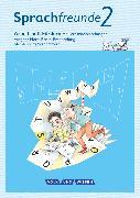 Cover-Bild zu Sprachfreunde, Sprechen - Schreiben - Spielen, Ausgabe Nord (Berlin, Brandenburg, Mecklenburg-Vorpommern) - Neubearbeitung 2015, 2. Schuljahr, Arbeitsheft Fördern von Kelch, Susanne