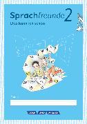 Cover-Bild zu Sprachfreunde, Sprechen - Schreiben - Spielen, Ausgabe Nord (Berlin, Brandenburg, Mecklenburg-Vorpommern) - Neubearbeitung 2015, 2. Schuljahr, Lernentwicklungsheft, 10 Stück im Paket von Knutas, Kathrin