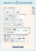 Cover-Bild zu Sprachfreunde, Sprechen - Schreiben - Spielen, Ausgabe Nord (Berlin, Brandenburg, Mecklenburg-Vorpommern) - Neubearbeitung 2015, 2. Schuljahr, Grammatiktafel (10er-Pack) von Knutas, Kathrin