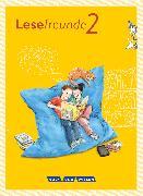 Cover-Bild zu Lesefreunde, Lesen - Schreiben - Spielen, Östliche Bundesländer und Berlin - Neubearbeitung 2015, 2. Schuljahr, Lesebuch mit Lernentwicklungsheft von Gutzmann, Marion