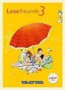 Cover-Bild zu Lesefreunde, Lesen - Schreiben - Spielen, Östliche Bundesländer und Berlin - Neubearbeitung 2015, 3. Schuljahr, Lesebuch mit Lernentwicklungsheft von Gutzmann, Marion