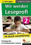 Cover-Bild zu Wir werden Leseprofi 2 (eBook) von Stolz, Ulrike