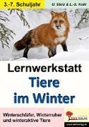 Cover-Bild zu Lernwerkstatt Tiere im Winter (eBook) von Stolz, Ulrike