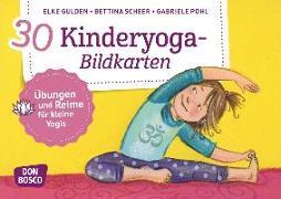 Cover-Bild zu 30 Kinderyoga-Bildkarten von Gulden, Elke