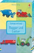 Cover-Bild zu Schnapp und weg! Das superschnelle Kartenspiel: Bagger und Laster von Tudor, Andy (Illustr.)