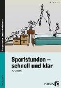 Cover-Bild zu Sportstunden - schnell und klar von Kaufhold, Stephan