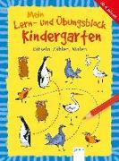 Cover-Bild zu Mein Lern- und Übungsblock Kindergarten. Rätseln, Zählen, Malen von Seeberg, Helen