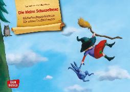 Cover-Bild zu Die kleine Schusselhexe. Kamishibai Bildkartenset von Stohner, Anu