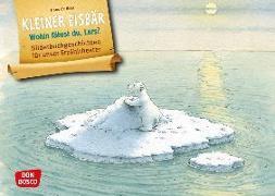 Cover-Bild zu Kleiner Eisbär. Wohin fährst du, Lars? Kamishibai Bildkartenset von Beer, Hans De