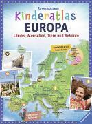 Cover-Bild zu Ravensburger Kinderatlas Europa von Schwendemann, Andrea