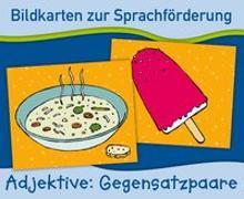 Cover-Bild zu Bildkarten zur Sprachförderung: Gegensatzpaare. Neuauflage von Verlag an der Ruhr, Redaktionsteam