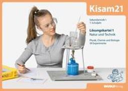 Cover-Bild zu Kisam21 - Experimentierkartei 1 - Lösungen von Hutzli, Hansjürg